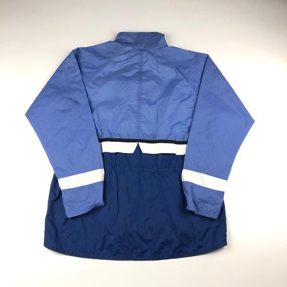 Vintage 90s Nike Lavender Zipup Windbreaker Jacke… - image 6