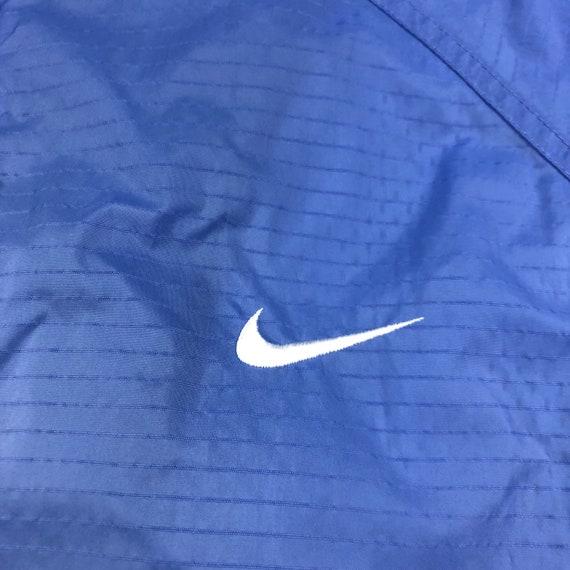 Vintage 90s Nike Lavender Zipup Windbreaker Jacke… - image 3