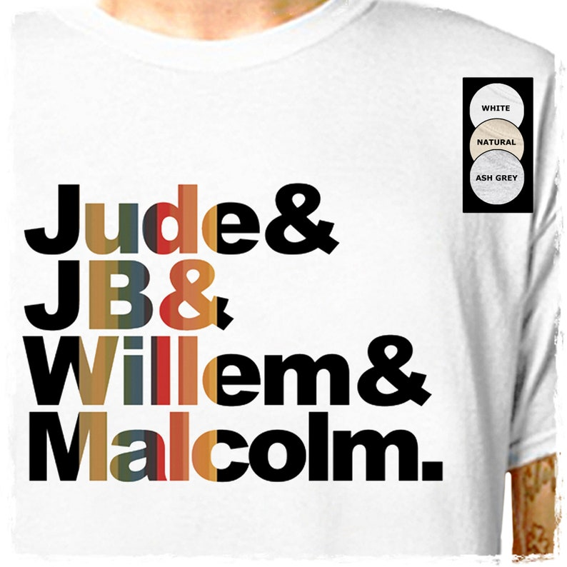 A Little Life  Jude JB Willem Malcolm .. 100% Cotton T-Shirt image 0