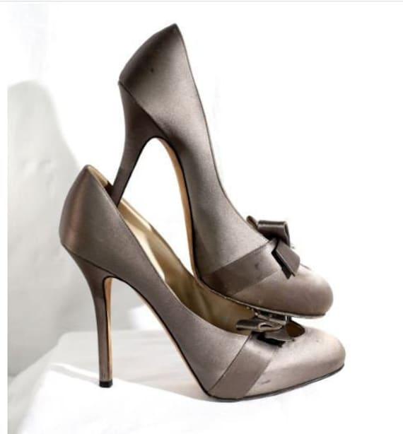 Christian Dior Women Pumps Shoes CD Monogram Vinta