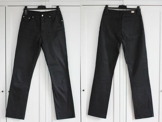 Gucci Black Womens Jeans Pants High Waist Size W31 Vintage  32c7e2c469