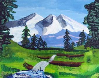 Mountain Landscape - Print