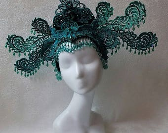 "Headdress ""Phenix Lace Kokoshnik"""
