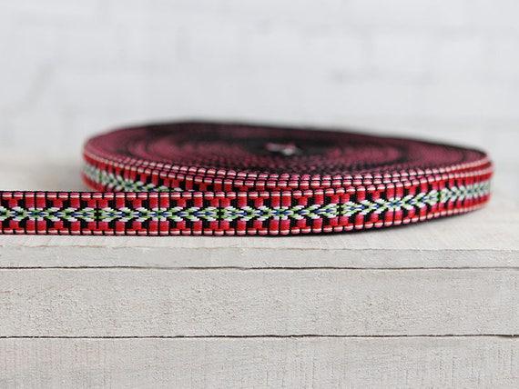 weaving tape 4033 Fighting musers 22 mm width self-production ripsband borte