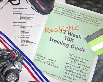 Realistic 12-Week 10k Training Plan