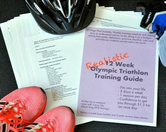 Realistic 12 Week Olympic Triathlon Training Plan