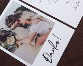 "Thank You Card ""Thank You"" to Wedding, Thank You Card to Wedding, Custom Printed Card, Thank You Card, Thanksgiving Wedding"