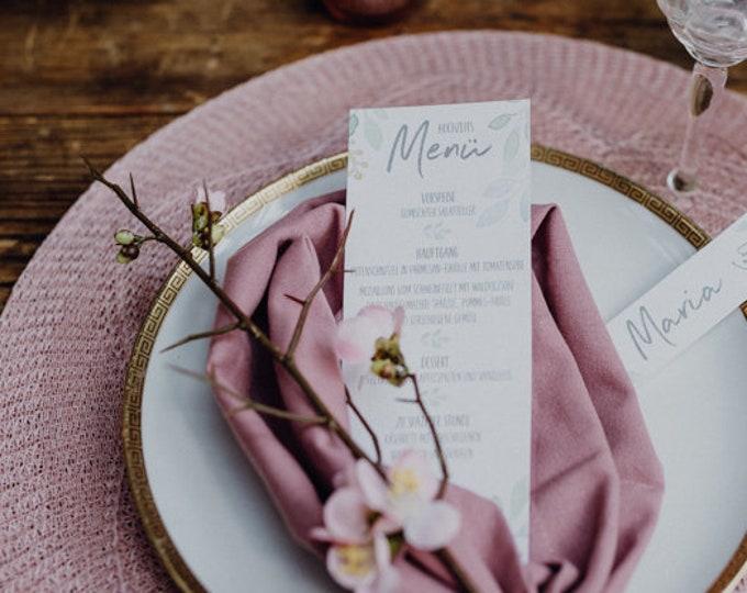 Menu menu Wedding Motif summer love wedding menu, Custom menu, summer wedding