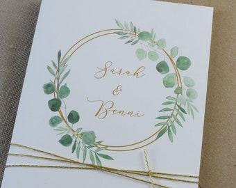 "Wedding Invitation ""Ring Love"" Invitation card to The Wedding, individual wedding card, summer Wedding"
