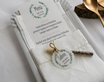 Menu card motif -Wacholder Love-