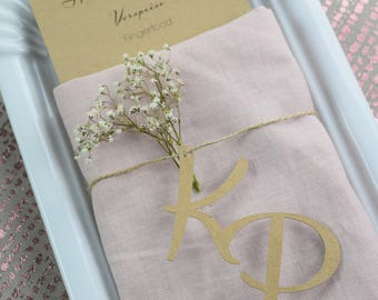 Letters monograms-plotted wedding