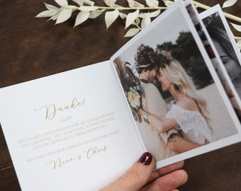 "Photo Booklet ""Sage Love""Photo Album, Square Mini Album, Thanksgiving to Wedding, Thanksgiving, Booklet, Thanksgiving Birth"