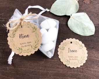 """Pendant for favors / wedding """"flowering love"""""""