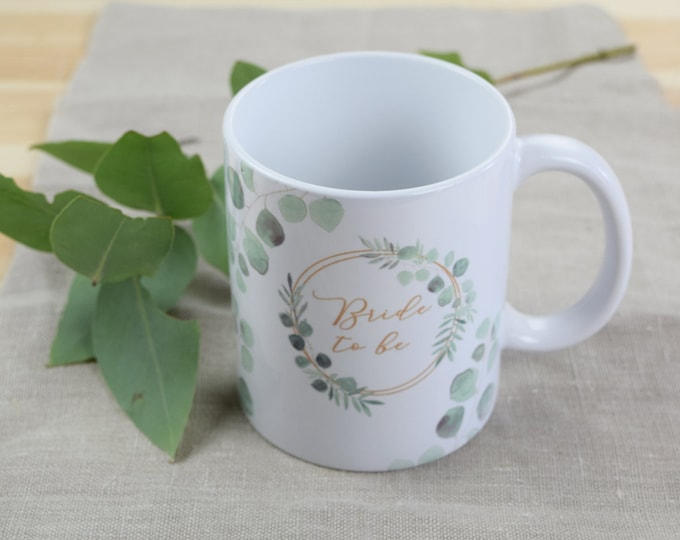 "Mug, JGA ""Ring Love,"" Wedding, Gift for the Bride, Bride to be"