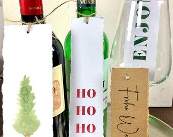 Festive XL Pendant Set- 4pcs. Christmas pendant, gift tag, flat pendant