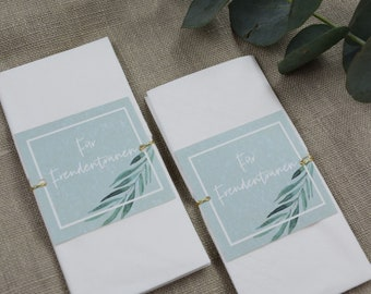 "Joy Tear Vignette Wedding ""Green & Gold"""