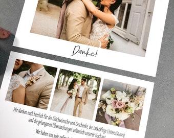 "Thank You Card ""Thank You 4"" to Wedding, Thank You Card to Wedding, Custom Printed Card, Thank You Card, Thanksgiving Wedding, Fine Art"