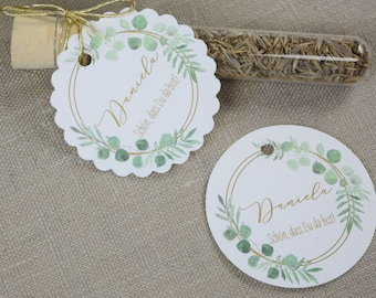 Pendant for favors / wedding
