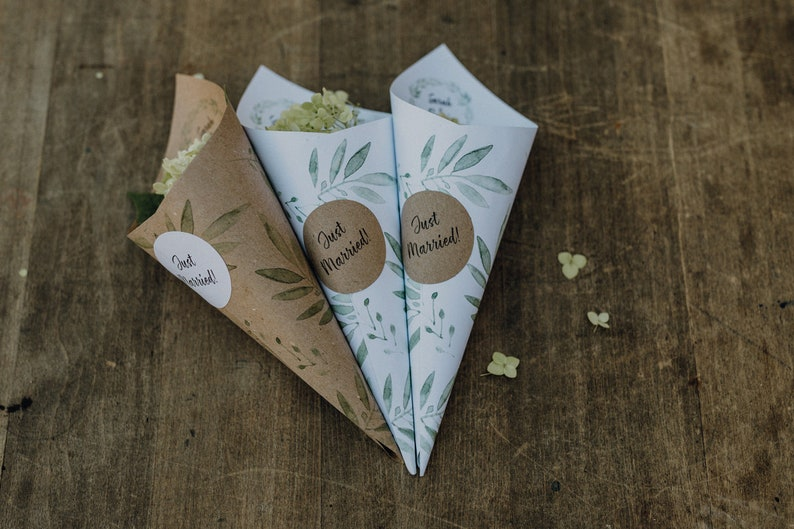 Greenery Hochzeitskarten