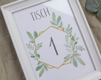 Tischpläne-Hochzeit
