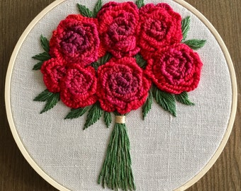"""6"""" Red Roses"""