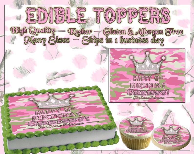 Taartdecoraties Unicorn Face Hearts Birthday Cake Topper Edible Paper Sugar Sheet Cupcakes Easy Feestartikelen