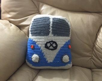 Volkswagen Bus Decorative/throw pillow