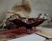 Murano Art Glass Bowl Centerpiece Real Murano Glass Art Glass Centerpiece Unique