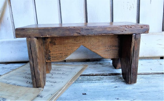 Image 0 Antique Wooden Bench T51