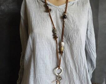 Necklace, Boho necklace