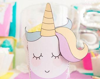 Unicorn box - candy box
