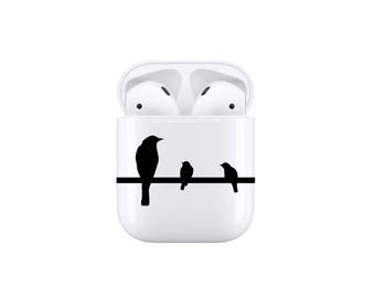 Decal For AirPods - Birds on a Line