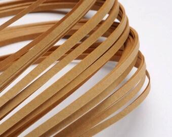 120 paper strips for Quilling - Café au Lait