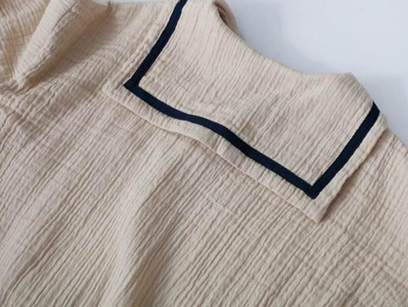 TAM KIDS NEW!! Spring Summer Children Cotton And Linen Dress  Baby Girl Dress Loose Long Sleeve Baby Dress