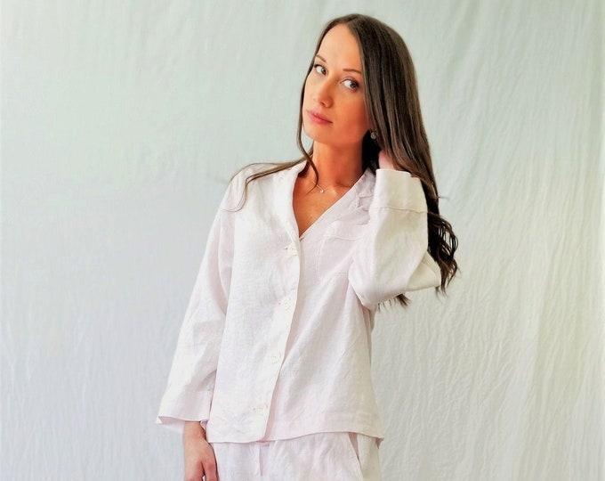 Linen pajamas set SELENA