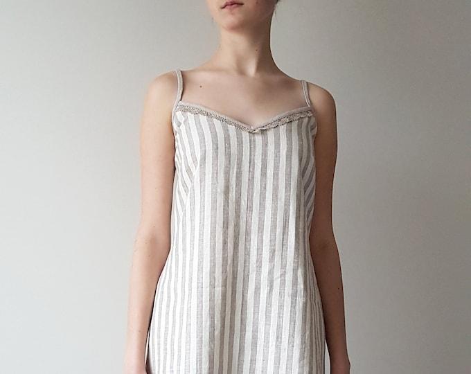 Linen nightgown Women sleepwear Nightdress Slip dress Gift for women