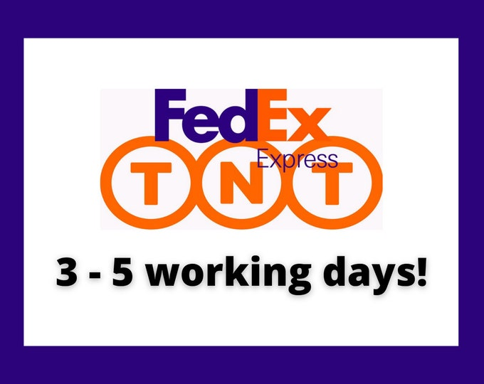 Express shipping / 3 - 5 working days