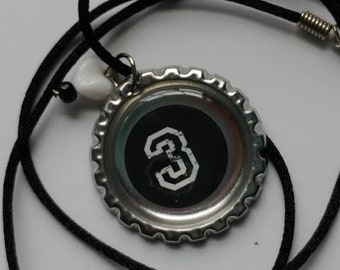 "Bottle Cap Necklace ""3"""