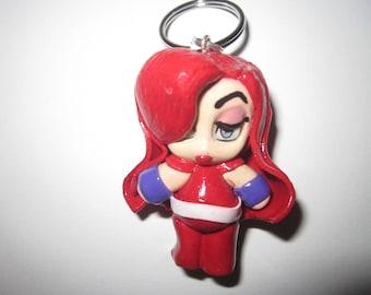 Sale Polymer Clay Chibi accessory Keychain 6e9530528d