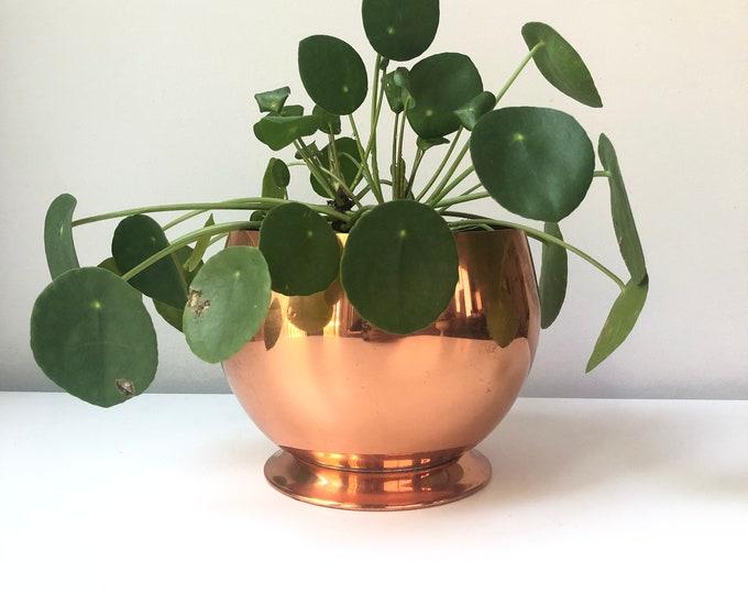 Vintage Coppercraft Guild planter