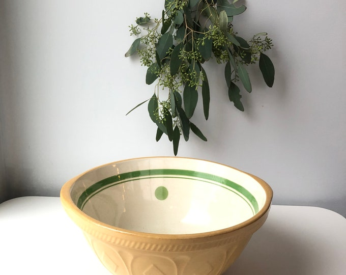 1930s Easimix bowl T.G.Green & Co 10.5""