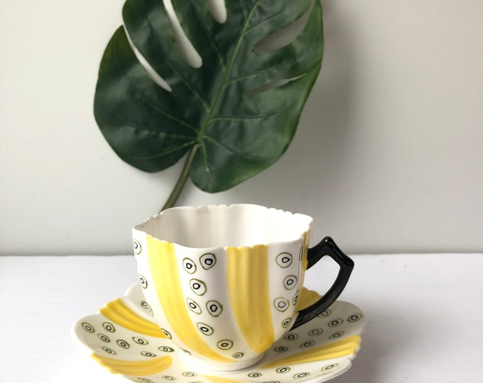 Vintage Art Deco Phoenix  teacup