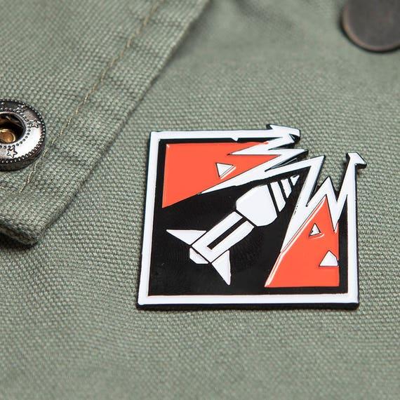 Six Siege Ash Enamel Pin Great Christmas Gift For Gamers And Etsy