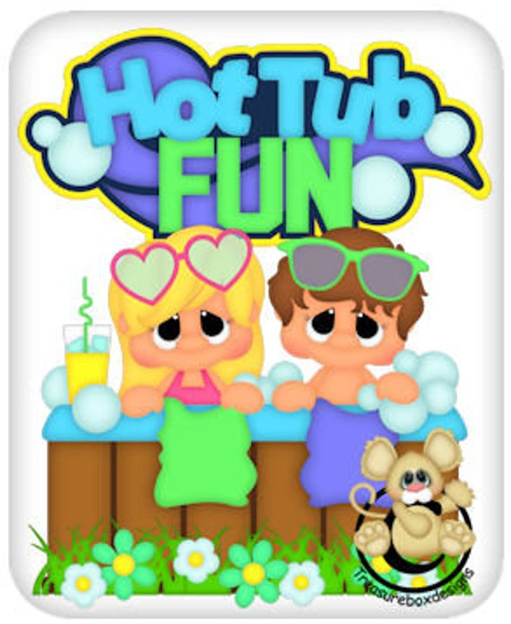 Free Hot Tub Clipart | Free Images at Clker.com - vector clip art online,  royalty free & public domain