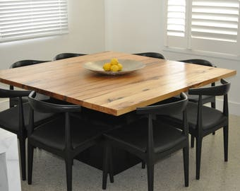 Square Dining Table Etsy