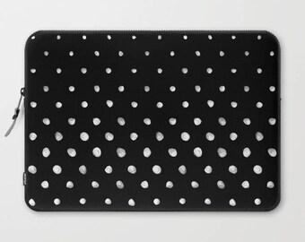 Polka Dot Laptop Sleeve, Laptop Cover, Laptop Sleeve 13, Laptop Sleeve 15, MacBook Sleeve 13, Laptop Sleeve 13 inch, Laptop Sleeve 15 inch