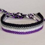 Pride Flag bracelets - love friendship agender bisexual genderqueer genderfluid asexual gay lesbian pansexual non-binary transgender lgbt
