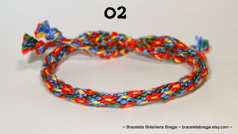 Kumihimo bracelet  handmade  Japan  ethnic  tribal  ibiza 02