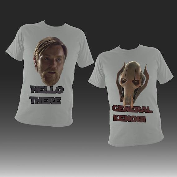 Hello There General Kenobi Revenge Of The Sith Prequel Meme Etsy