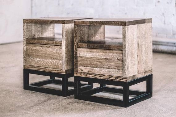 Industriemobel Couchtisch Schlafzimmer Tisch Storage Etsy